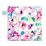 Bumkins Reusable Snack Bag Large, Watercolor
