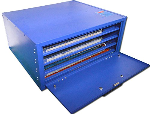 110V Screen Drying Cabinet A 4 layers - Screen Printing Equipment