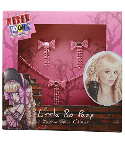 Mememall Fashion Little Bo Peep Jewelry Kit Costume Accessory (Bo Peep Wig)