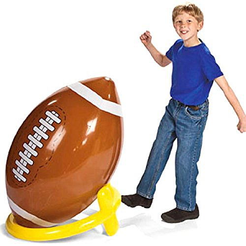 Inflatable Giant Football Tee set