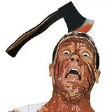Halloween Props Horror Headband Costume Props Through Head for Halloween Party Masquerade (Ax)