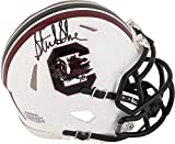 Sterling Sharpe South Carolina Gamecocks Autographed Mini Helmet - Fanatics Authentic Certified - Autographed College Mini Helmets