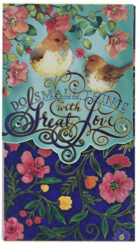 Punch Studio Note Pad Pocket Large Small Things Great Love