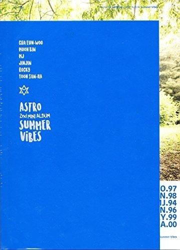 CD : Astro - Summer Vibes (2nd Mini Album) (Asia - Import)