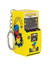 Official Pac-Man Arcade Style Keyring Keychain