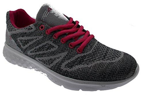 Grigio Fuxia Sneaker S310C Plantare 41 L10 Form PE4K Grigio Memory ZtRvqHxURw