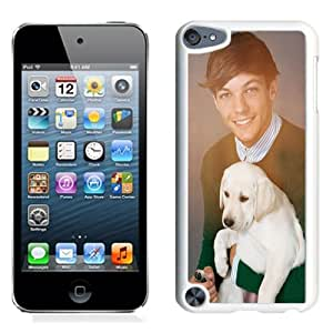 DIY Ipod Touch 5 Case Design with One Direction With Puppies Ipod Touch 5 5th Generation Phone Case in White