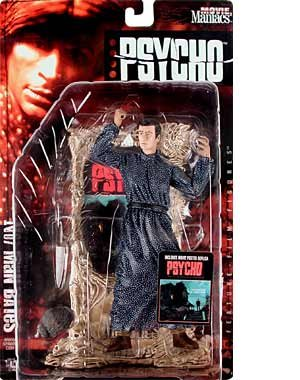 NORMAN BATES Psycho McFarlane Movie Maniacs 2 Figure