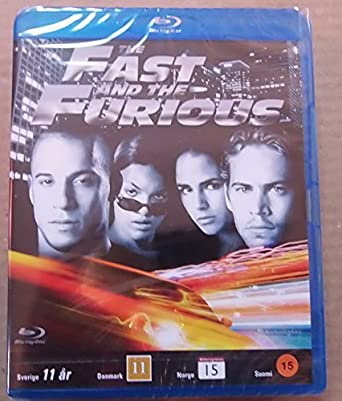 The Fast and the Furious Nordic Import English Audio