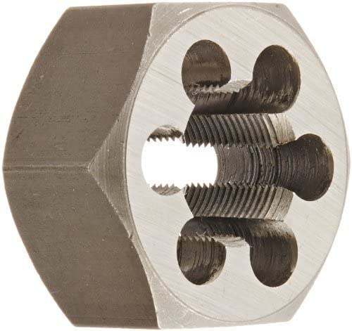 Drill America DWT Series Qualtech Carbon Steel Hex Threading Die, M18 x 1 Size (Pack of 1) by Drill America