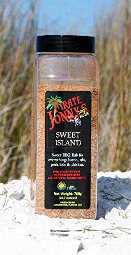 (Pirate Jonny's Sweet Island BBQ Rub - Kitchen Size)