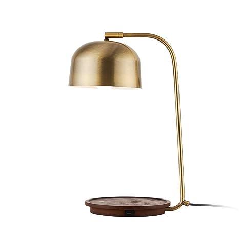 WYHYQY Lámpara de cabecera Cargador inalámbrico, lámpara de ...
