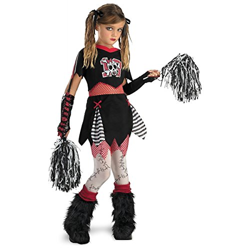 Cheerless Leader Child Costume - (Zombie Cheerleader Makeup)