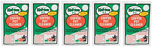 KAF-TAN #1 Coffee Pot Cleaner/Stain Remover, 1.5 Ounce Packet (5-Pack) by Tops Mfg