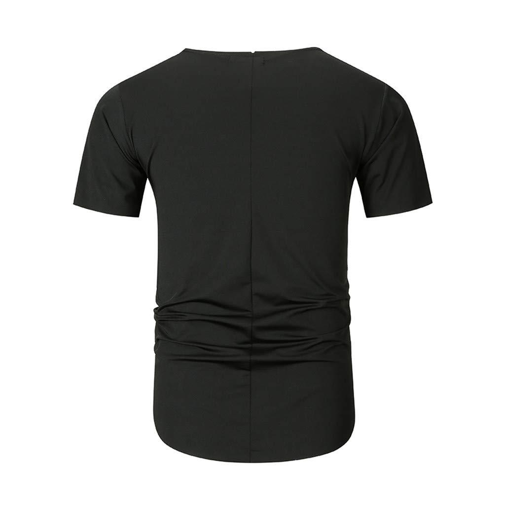 Amazon.com: YKARITIANNA Fashion Mens Summer V Neck Casual ...