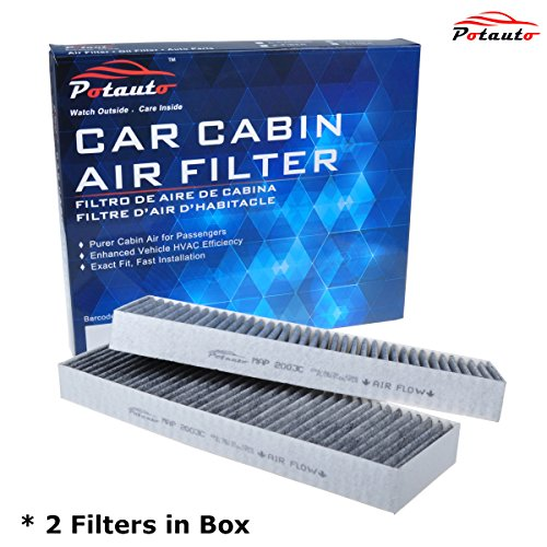 POTAUTO MAP 2003C Heavy Activated Carbon Car Cabin Air Filter Replacement compatible with ACURA, CL, TL, HONDA, Accord (Acura Cl Car)