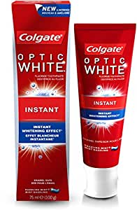 Colgate Optic White Instant Whitening Toothpaste,75ml