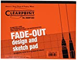 Clearprint Grid Paper Pad, 20 lb., 8-1/2 X 11 Inches, 30 Sheets (CLE932811ISO)
