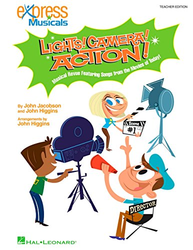Hal Leonard Lights! Camera! Action! Musical Revue Featuring Songs from the Movies of Today! Classroom Kit