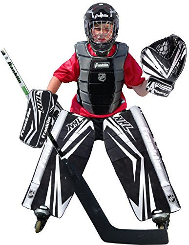 Franklin-Sports-NHL-Junior-SX-Comp-100-Goalie-Set-SmallMedium
