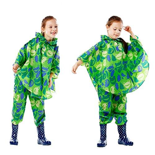 Antipioggia Per dimensione Le Ragazze Giacca Leggero Dei L Impermeabile E Bambini Traspirante Ragazzi Maybesky 7E5nq8