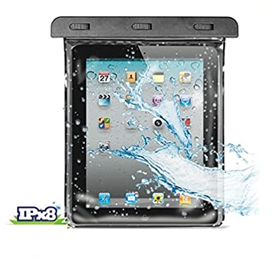 Amazon.com: Waterproof Case Underwater Transparent Bag with Touch Pouch for Samsung Galaxy Tab E NOOK 9.6 - Galaxy Tab S2 NOOK 8.0 - Galaxy Tab 4 NOOK 7.0 ...