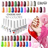 Elite99 Pick Any 50 Colors Soak Off Gel Nail Polish UV LED Color Nail Art Gift Set 241 Colors Available