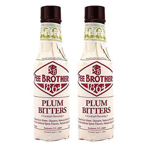(Fee Brothers Plum Cocktail Bitters - 5 oz - 2 Pack)