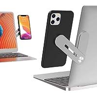 ABC Market Soporte para Celular Magnético Plegable para Laptop o Computadora de Escritorio, de Aluminio, Visualización…