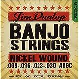 Dunlop djn0930Banjo Cuerdas, níquel, Tenor, .009–042, cuerdas, 4/set