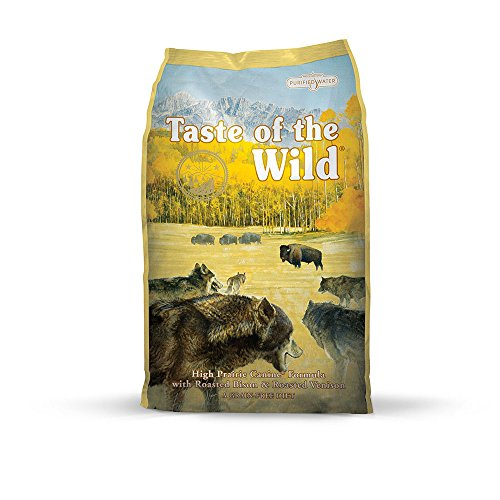 Taste of the Wild Dry Dog Food, High Prairie Canine Formula with Roasted Bison and Venison