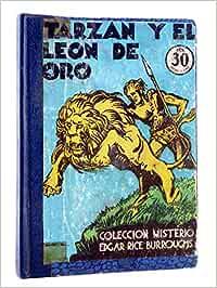 COLECCIÓN MISTERIO 93. Tarzán Y El León De Oro. J.C