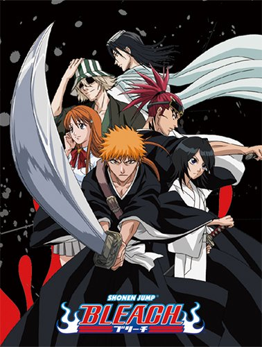 Bleach Ichigo Rukia (Bleach Group Throw Blanket by Great Eastern with Ichigo, Rukia & Orihime)