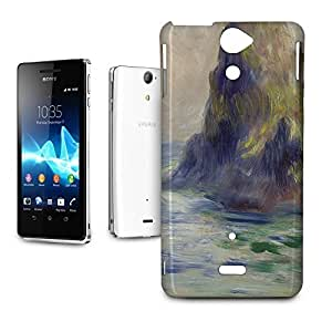 Phone Case For Sony Xperia V - Renoir Guernsey Art Painting Glossy Wrap-Around wangjiang maoyi