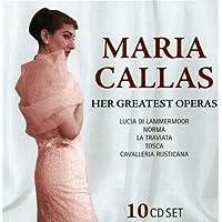 Her Greatest Operas: Lucia di Lammermoor, Norma, La Traviata, Tosca, Cavalleria Rusticana