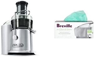 Breville JE98XL Juice Fountain Plus Juicer and Biodegradable Juice Bags