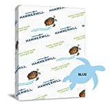 Hammermill Paper Colors CJvmX Blue, 24lb., 8.5x11, Letter 500 Sheets (5 Pack) BznMK