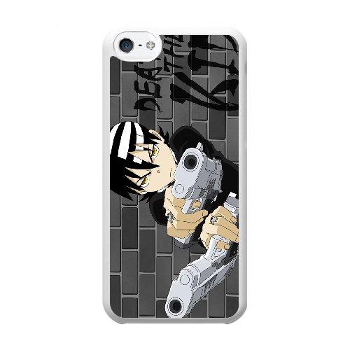 Coque,Coque iphone 5C Case Coque, Soul Eater Cover For Coque iphone 5C Cell Phone Case Cover blanc