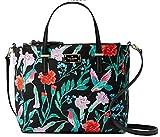 Kate Spade Wilson Road Hummingbird Floral Alyse Satchel Hand Bag