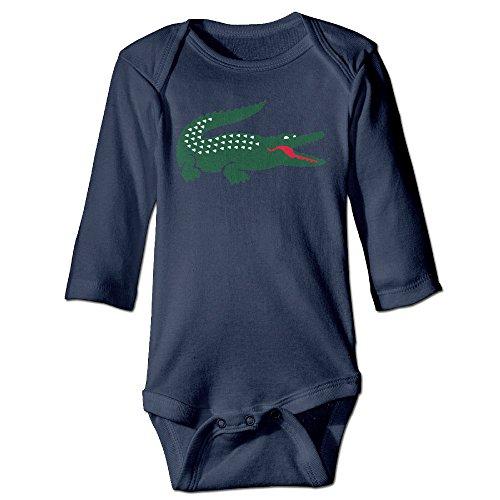 Missone Newborn Crocodile Long Sleeve Bodysuit Baby Onesie (Toddler Crocodile Costume)