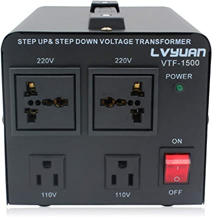 US Ship 2000 Watt Step Up Down Electrical Power Voltage Converter Transformer