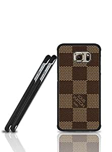 Hard Plastic New Style Funda Case Of Brand -Logo Louis Design Vuitton For Samsung Galaxy S6 Edge (Not For S6 / S6 Edge Plus)