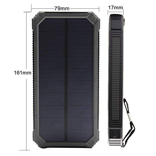 Solar Charger Solar External Battery Pack Ibeek Portable