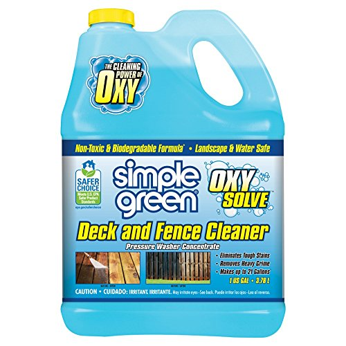 SIMPLE GREEN Oxy Solve Deck and Fence Pressure Washer Concentrate 1 - Carport Simple