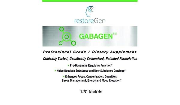 Amazon.com: restoreGen - GabaGen pro-Dopamine Regulator (120 Count): Health & Personal Care