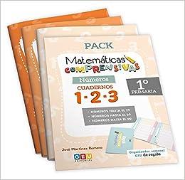 Pack Matemáticas Comprensivas 1º Primaria Niños de 5 a 7 años: Amazon.es: josé Martínez Romero: Libros