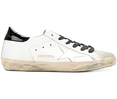 dd13550f438a Golden Goose Deluxe Brand Women Superstar Low Top Sneakers White Croc Star  G31WS590C66 (whoosso)