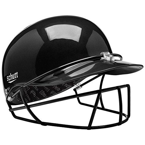 Schutt Sports Pitcher's Protector Baseball/Softball Head & Face Safety, Black, Medium – DiZiSports Store
