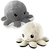 Octopus Doll Reversible Flip Octopus Plush Toy Doll Reversible Plush Plush Doll Filled Child Toy 1 Pack (C)