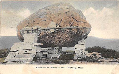 Hill Rollstone (Rollstone on Rollstone Hill Fitchburg Massachusetts Postcard)